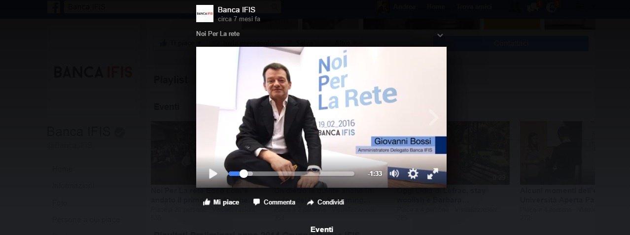 banca ifis evento in rete